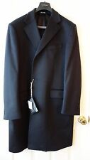 NEW LUCIANO BARBERA 100% CASHMERE MEN'S COAT sz. IT 56R, US 44R  MADE IN ITALY
