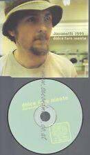 CD--PROMO--JOVANOTTI--DOLCE FARE NIENTE