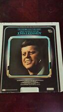 Great Figures in History John F Kennedy CED Selectavision Video Disc