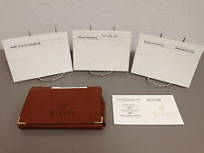 2000 Jaguar S-Type Genuine OEM Owner's Manual w/ Supplements - Free Shipping