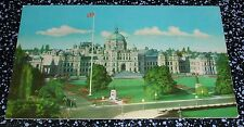 The Parliament Buildings Victoria B.C. Postcard Canada