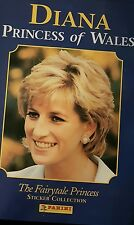 DIANA PRINCESS OF WALES. FULL SET OF STICKERS X144