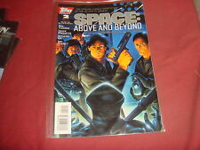 SPACE : ABOVE AND BEYOND #2 Roy Thomas Topps Comics - 1996  NM