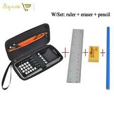 Case For Graphing Calculator Texas Instruments TI-84, 83, 85, 89, 82, Plus CE
