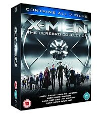 """X MEN THE CEREBRO COLLECTION 7 DISCS BOX SET BLU-RAY RB """"NEW&SEALED"""""""