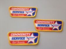 Girl Scout Community Service Patch