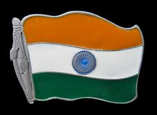 INDIA INDIAN NATIONAL FLAG BHARAT DELHI TAJ MAHAL BELT BUCKLE BOUCLE DE CEINTURE