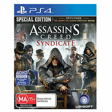 Assassins Creed Syndicate Special Edition PS4 Games New Sealed PAL