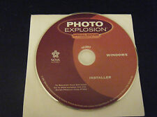Photo Explosion Special Edition Version 1.5 Installation Disc (PC, 2004)