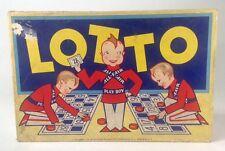 Vintage Play Boy Lotto Game Copyright 1931 Collectible #552 Original Box Rare