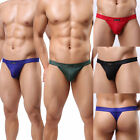 Top Sexy Mens Low Rise Underwear Thong G-string T-Back Comfy Briefs Underpants