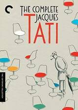 The Complete Jacques Tati, New DVDs