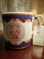 New with Tag Queen Elizabeth Diamond Jubilee Royal Heratige Bone China Cup Mug