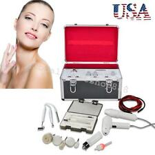 USA Young 5 in1 High Frequency HF Galvanic Facial Spa Brush Vacuum Spray Machine