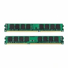 NEW! 4GB Kit 2x 2GB DDR3 1333MHz PC3-10600 Non ECC Desktop Memory RAM 1333