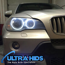 BMW X5 E70 Led Blanco Angel Eyes Halo Anillos de actualización para coches de halógeno