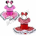 Minnie Mouse Girls Kid Birthday Party Dance Costume Fancy Tutu Dress Up Age 1-8Y
