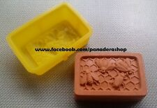 1 Piece Rectangle Honey Beehive Bee Silicon Soap Chocolate Jelly Mold Molder