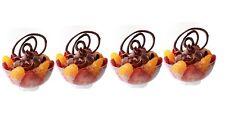 20 pequeñas comida de plástico Tazones - - - - Partido Transparente Copa Frutas Mini Canape Boda