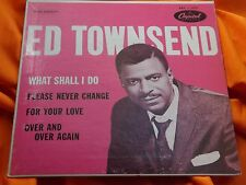 Very Rare R & B EP 45 : Ed Townsend ~ What Shall I Do ~ Capitol 1091