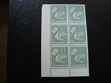 ALLEMAGNE (rfa) - timbre - yvert et tellier n° 123 x6 n** (A5) stamp germany