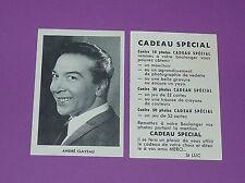 CARTE PHOTO St LUC ANNEES 1950 ANDRE CLAVEAU CINEMA FILM ACTEUR ACTRICE
