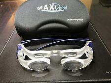 Eschenbach MAX DETAIL 2 X Magnifying GLASSES LOUPE 1624-51 Made in Germany
