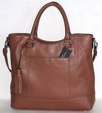 Tignanello Smooth Operator Convertible Saddle Leather Shopper Tote $175
