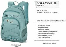 NEW Dakine Girls Grom 13L Blue Womens Youth Backpack Bookbag School Bag Msr