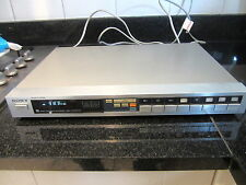 SONY st-jx4l VINTAGE FM STEREO TUNER (1981) W / MANUALE ORIGINALE