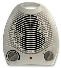 Electric Fan Heater 2kw 2000w Adjustable Room Thermostat Ideal for Camping