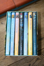 THE CHRONICLES OF NARNIA, BY CS LEWIS. COMPLETE  HARDBACK BOX SET - TED SMART