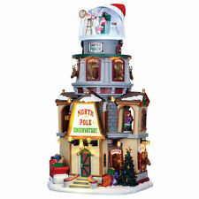 North Pole Observatory by Lemax Christmas Village. SIGHTS and SOUNDS . NEW