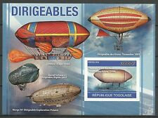 Togo Aviation Ballon Dirigeable Airship Luftschiff Non Dentele Imperf ** 2010