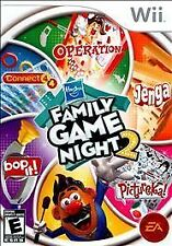 Brand New Hasbro Family Game Night 2 Nintendo Wii Factory Sealed!