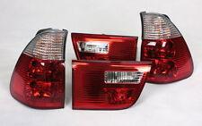 Luci Posteriori Set fari posteriori BMW e53 x5 99-03 ROSSO CHIARO Red Clear Crystal Nuovo