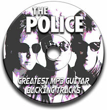 THE POLICE STYLE MP3 ROCK POP GUITAR BACKING TRACKS COLLECTION JAM TRACKS CD