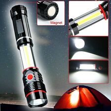 COB LED Magnetic Work Light Inspection Flashlight 300LM Lamp Torch Camping Light