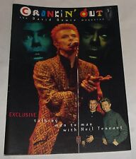 """David Bowie Magazine Crankin Out  Issue 5 Interview with Neil Tennant 12"""" x 8"""""""