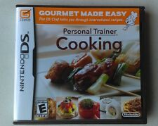 Nintendo DS Personal Trainer Cooking Gourmet Made Easy