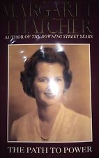 THE PATH TO POWER BY MARGARET THATCHER *FIRST ED*SIGNED*