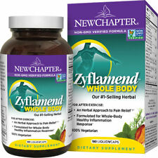 New Chapter Zyflamend Whole Body 180 Vcaps Anti Inflammatory FREE SHIPPING