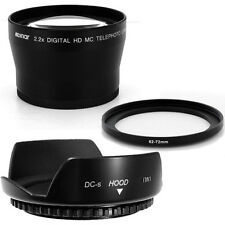 62mm Lens Hood Flower Crown Petal,Telephoto Lens for Sigma 28-300mm F3.5-6.3 DG