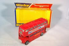 DINKY TOYS 289 ROUTEMASTER BUS ESSO VERY NEAR MINT BOXED