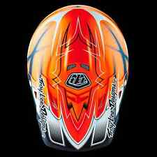 2016 Troy Lee Designs AIR Starbreak Matte Orange Large MX Helmet TLD KTM
