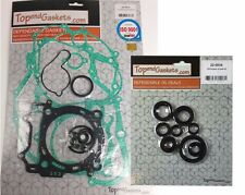 Yamaha YZ450F WR450F Complete Engine Gasket Kit & Oil Seal Set  PN020014/220034