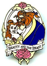Walt Disney World 2002 Beauty & The Beast DVD Gift With Purchase Pin