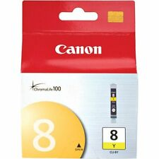 Genuine Canon CLI-8Y Yellow Ink Cartridge Pixma MP970 MX850