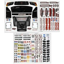 Traxxas TRA6813 Decal/Sticker Sheet: 1/10 Slash 4x4