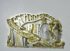 ▓ SINGAPORE gold marina bay sands FRIDGE / REF MAGNET COLLECTIBLE SOUVENIR